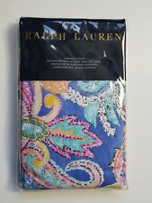 Ralph Lauren Flying Point Print Paisley Multi-Color One Euro Pillow Sham