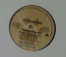 "EUROFUNK Manshortage 12""-Maxi"