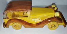Wooden Toy Car 3