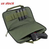Pistol Case Tactical Padded Handgun Rug Shooting Range Gun Bag for Glock 1911
