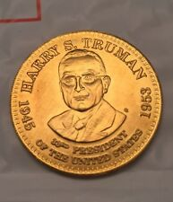 1992 SHELL PRESIDENTIAL COLLECTOR COINS. - Harry S Truman