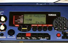 YAMAHA DJX blue Keyboard Sampler PSR-D1