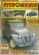 CITROMANIA 18 CITROEN ROSALIE 5HP TORPEDO C3 1925 2CV A 1953 MONDIALE 2CV SUEDE