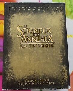 Le Seigneur des Anneaux La Trilogie Version Longue Édition Spéciale 12 Dvd