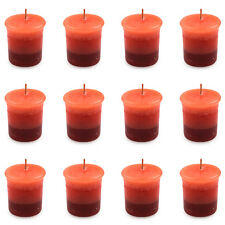 Pajoma Votivkerze Roses & Berries marmorierte Duftkerze 12er Pack