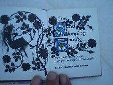 MINIATURE BOOK  JAN PIENKOWSKI  THE SLEEPING BEAUTY 1977 1ST EDITION 434 95624 4