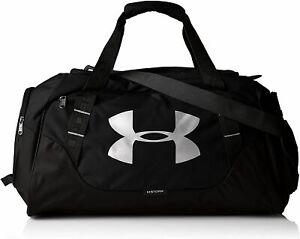 Under Armour Undeniable 3.0 Duffel Small Duffel Bag Black/Silver New