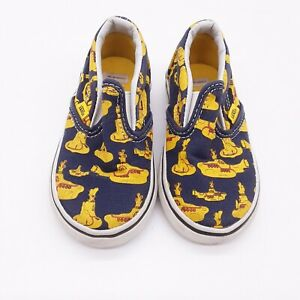 Toddler Vans shoes/Size 5.5 (yellow Submarine) the Beatles by Van's
