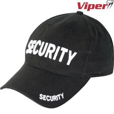 VIPER SECURITY BASEBALL HAT CAP MENS DOORMAN BOUNCER WORK GUARD WORKWEAR
