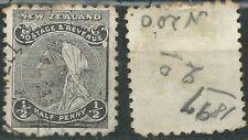 Nueva Zelanda Scott# 67A usado