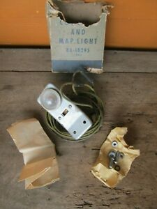 NOS 1949 1950 1951 Ford Accessory Map Light OEM FoMoCo 49 50 51
