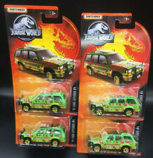Brand New Matchbox Die Cast Jurassic World Park Ford Explorer # 4 Lot Of 4 Vhtf