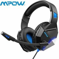 Stereo Bass Surround Mic Gaming Headset Headphone For PS4/Xbox One/PC Laptop