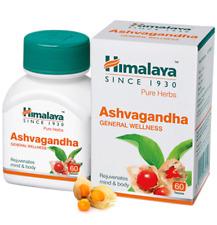 2 X Himalaya Ashvagandha Herbal Antioxidant Anti|Inflammatory Diabitis 60Tab