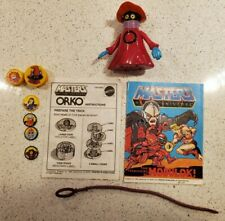 Vintage MOTU He-Man Orko W/Magic Trick and rip cord NEAR COMPLETE
