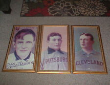 "LOT OF THREE 27 1/2"" ENLARGEMENTS OF CY YOUNG, HONAS WAGNER & CHRISTY MATHEWSON"