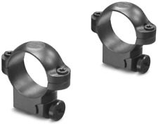 Leupold Riflescope Mount Rings, 1in, Ruger M77, Low, Matte Black 61017