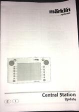Gebrauchsanweisung english & Italy Märklin 60212 Central Station 1 + Ups. Manual