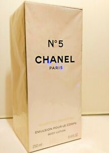 CHANEL NO.5 COLLECTION SEDUCTION BODY LOTION HUGE 250ML GLASS RARE DISCONTINUED!