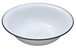 Falcon Enamel 30cm Large Washing Up Bowl Wash Basin White French Vintage Bowls
