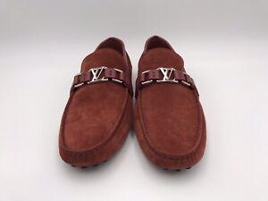 New Authentic Louis Vuitton Men's Suede Hockenheim Car Shoe 10 - 10.5 US #218H