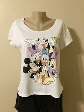 Disney Minnie Mouse And friends TSHIRT Red Color Women  SIZE M
