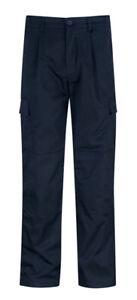 "Orbit Work / Combat Trousers Navy 42""L PC245CT"