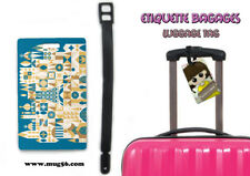 Etiquette bagage / luggage tag - disney it's a small world 01-003