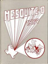 Mesquite High School Texas 1984 Yearbook Annual