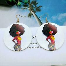 Gum Queen Diva Usa Shipping Trending Womens African Afro Wire Earrings Bubble