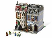 NEW BRAND Custom Modular Pet Shop Compitible TO Lego 10218 + Manual Books