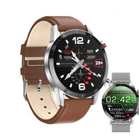 Smartwatch L13 Bluetooth Uhr Rundes HD Display Android iOS Samsung iPhone Huawei