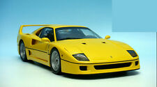 1/18 Kyosho Ferrari F40 Die Cast Model Yellow RARE