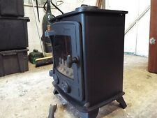 YEOMAN EXMOOR... WOOD/ MULTI-FUEL STOVE...4.9kw 50 HRS USE FROM NEW !!!