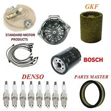 Tune Up Kit Filters Cap Wire Spark Plugs For PONTIAC FIREBIRD V8 6.6L 2BBL 1972
