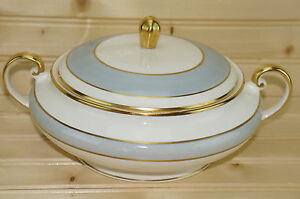 Pope Gosser Grey Dawn Covered Vegetable Round Serving Bowl with Lid