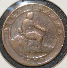 Spanien 10 Centimos 1870