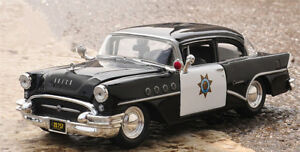 Maisto 1:26 Scale Vintage Car Model Alloy Vehicles Toys For 1955 Buick Century
