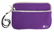 Purple Neoprene Zip Case For Use With Garmin Striker 4