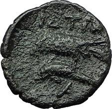 ISTROS in TRACE 4-3CenBC Apollo Sea Eagle Dolphin Ancient Greek Coin RARE i59363