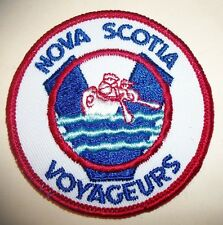 Nova Scotia Voyageurs Ice Hockey Team Patch Patches Vintage New AHL Defunct