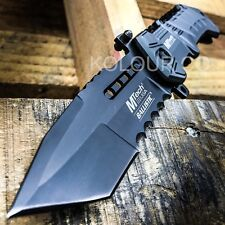 M-Tech BALLISTIC ARMY Tanto Tactical Military Spring Assisted Open Pocket Knife
