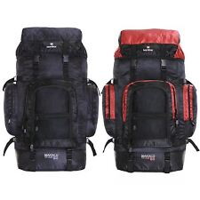 XXL Extra Large 80L Travel Hiking Camping Festival Luggage Rucksack Backpack Bag