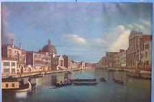 Impress. Ölgemälde Canale Grande Venedig Italien Canalazzo Venezia Italy ~1950