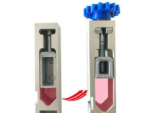 Powder Measure Internal Adjustment Block for Dillon Reloading Machine.