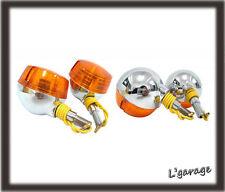 [LG70] SUZUKI RV50 RV75 RV90 RV125 VAN VAN RV FRONT + REAR SIGNAL 4PCS 6V (CA)