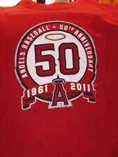 """Angels Baseball – 50 years "" T-Shirt – Great Sports Image (XL?)"