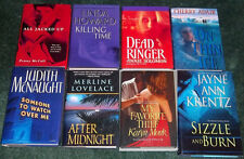 LOT ROMANTIC SUSPENSE HC Killing Time Linda Howard My Favorite Thief Karyn Monk