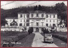 COMO CITTÀ 54 BRECCIA - VILLA GIOVIO - AUTOMOBILE d'EPOCA Cartolina FOTOGR. 1960