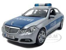 2010 MERCEDES E 350 CLASS GERMAN POLICE POLIZEI 1:18 MODEL CAR BY MAISTO 36192